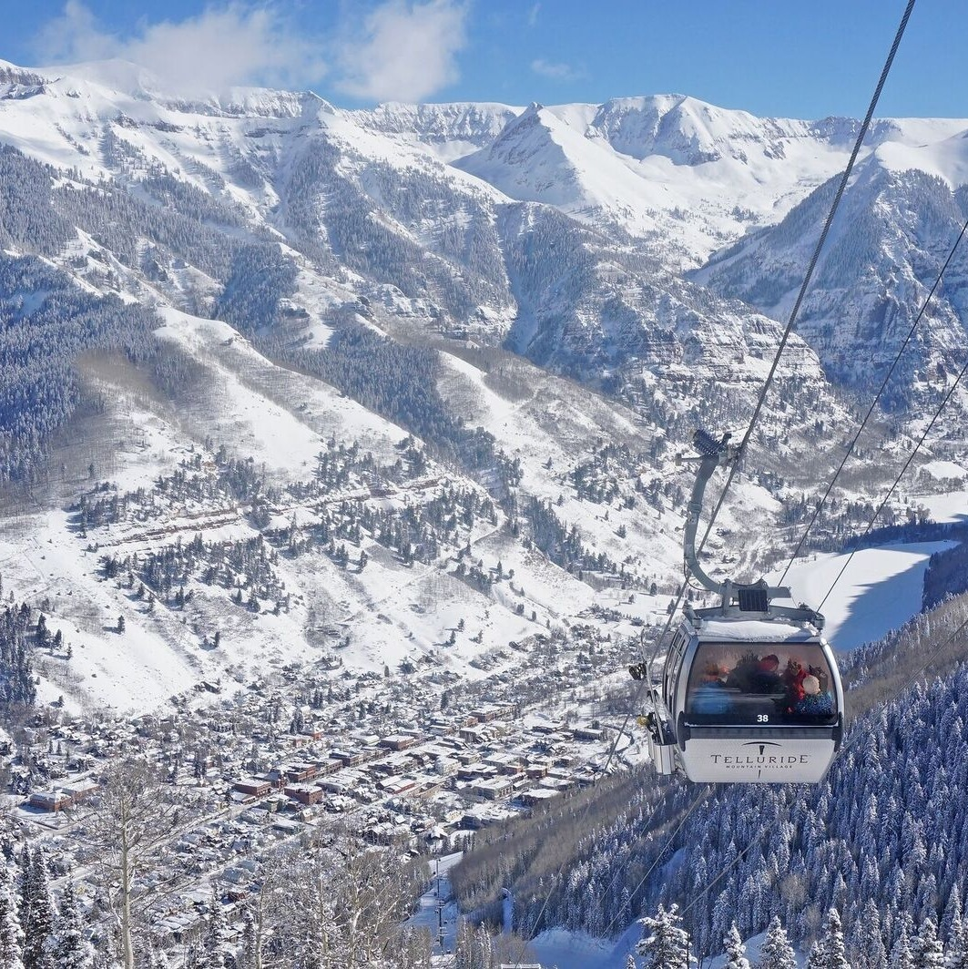 Telluride and Mountain Village Colorado Gondola