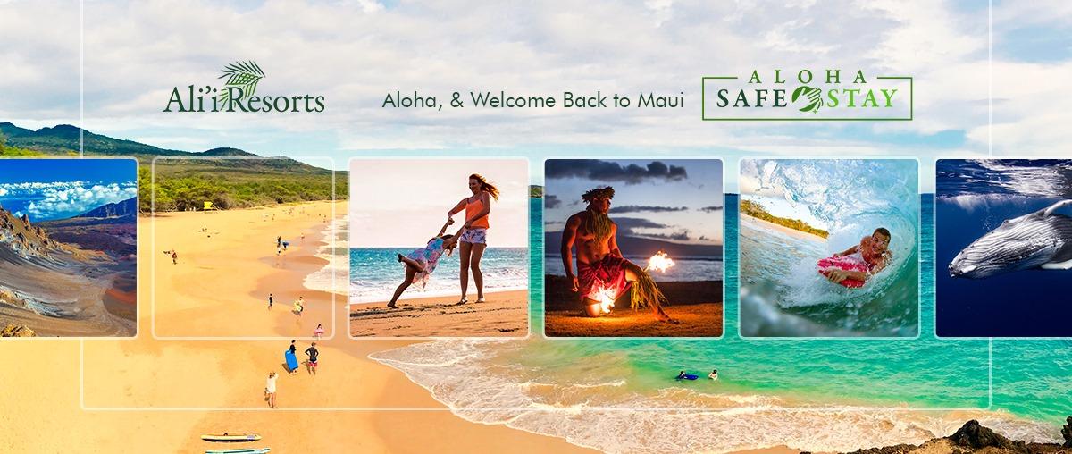 Ali'i Resorts Vacation Rental Management Company Hawaii Maui Beaches and Mountains