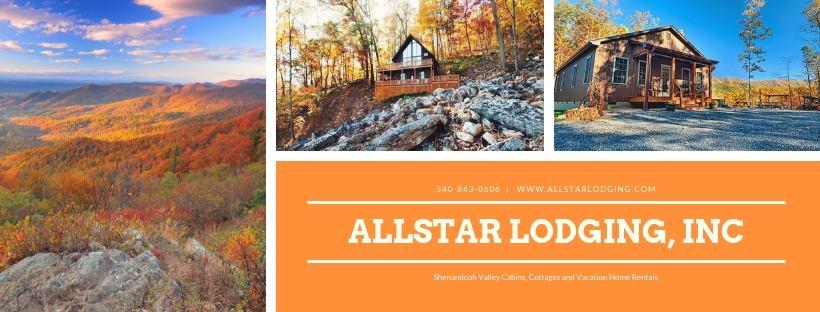 Allstar Lodging Shenandoah Valley Luray Virginia Cabin Rentals
