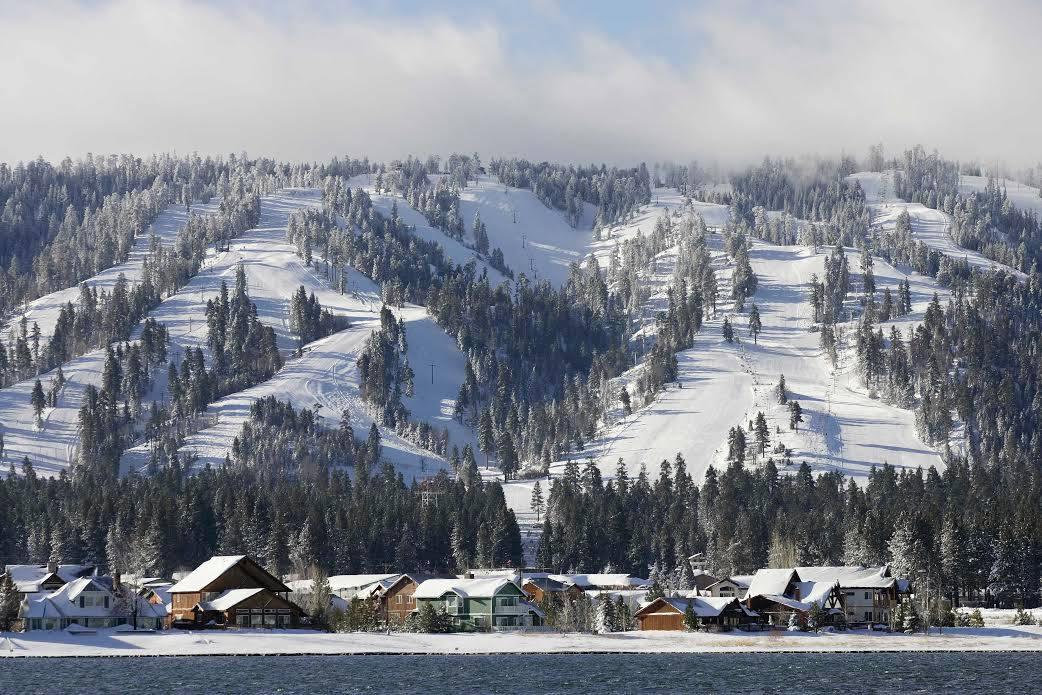 Big Bear Vacations Big Bear Mountain Ski Resort Ski Slopes Inland Empire California