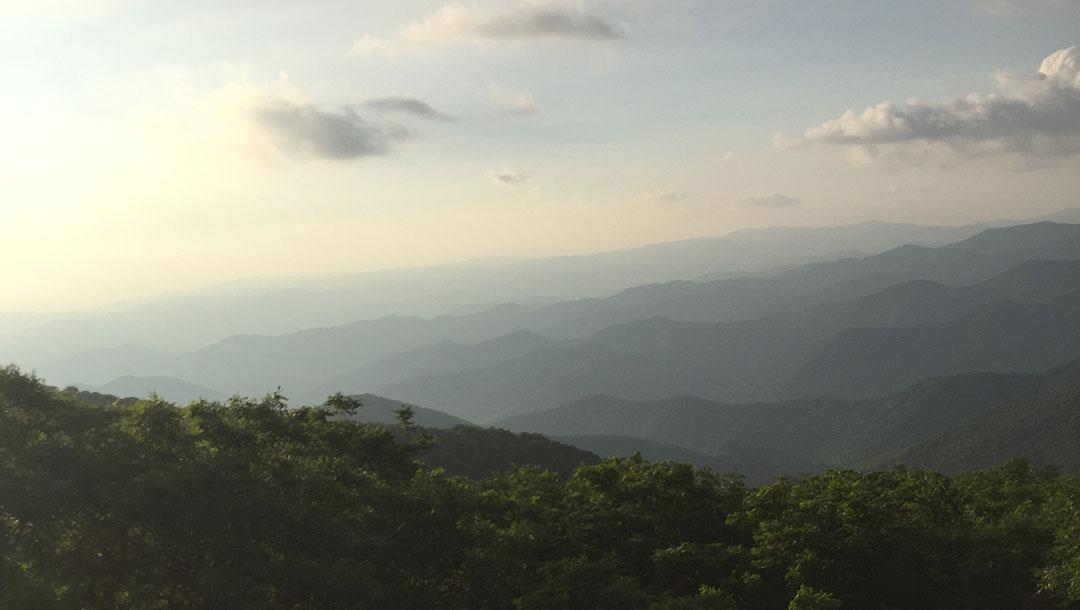 Blue Ridge Mountains North Carolina Mountain Range