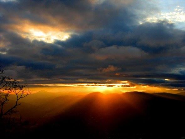 Carolina Mountain Properties Rentals Ashe County Blue Ridge Mountains Sunrise.