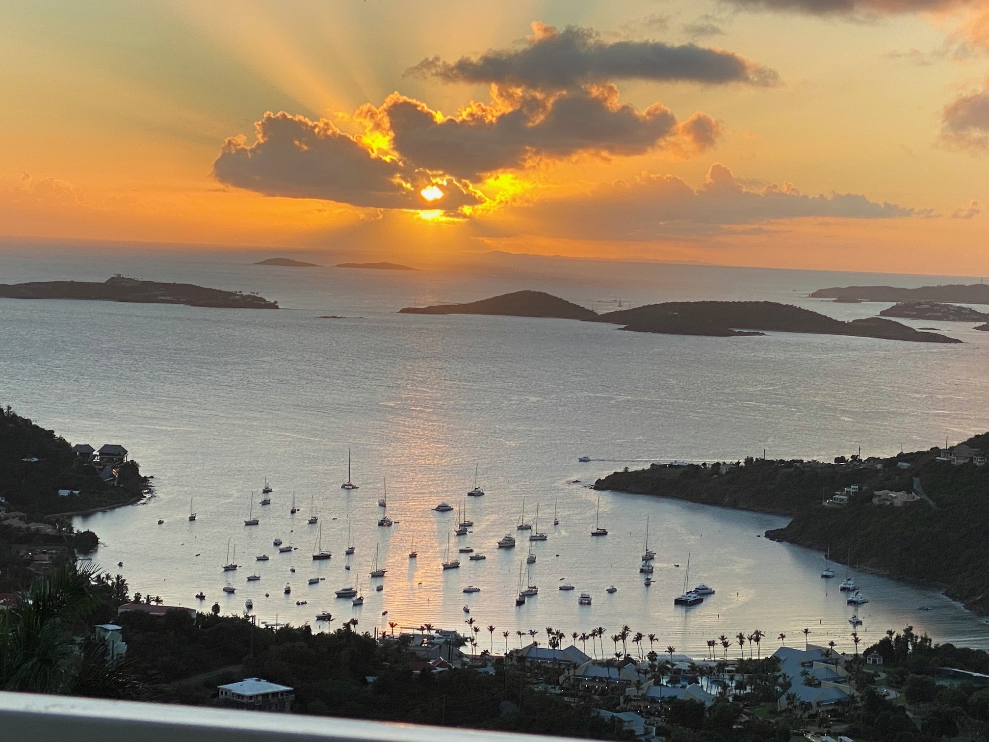Cimmaron Property Management Sunset Vista Villa St John Cruz Bay Virgin Islands Caribbean.