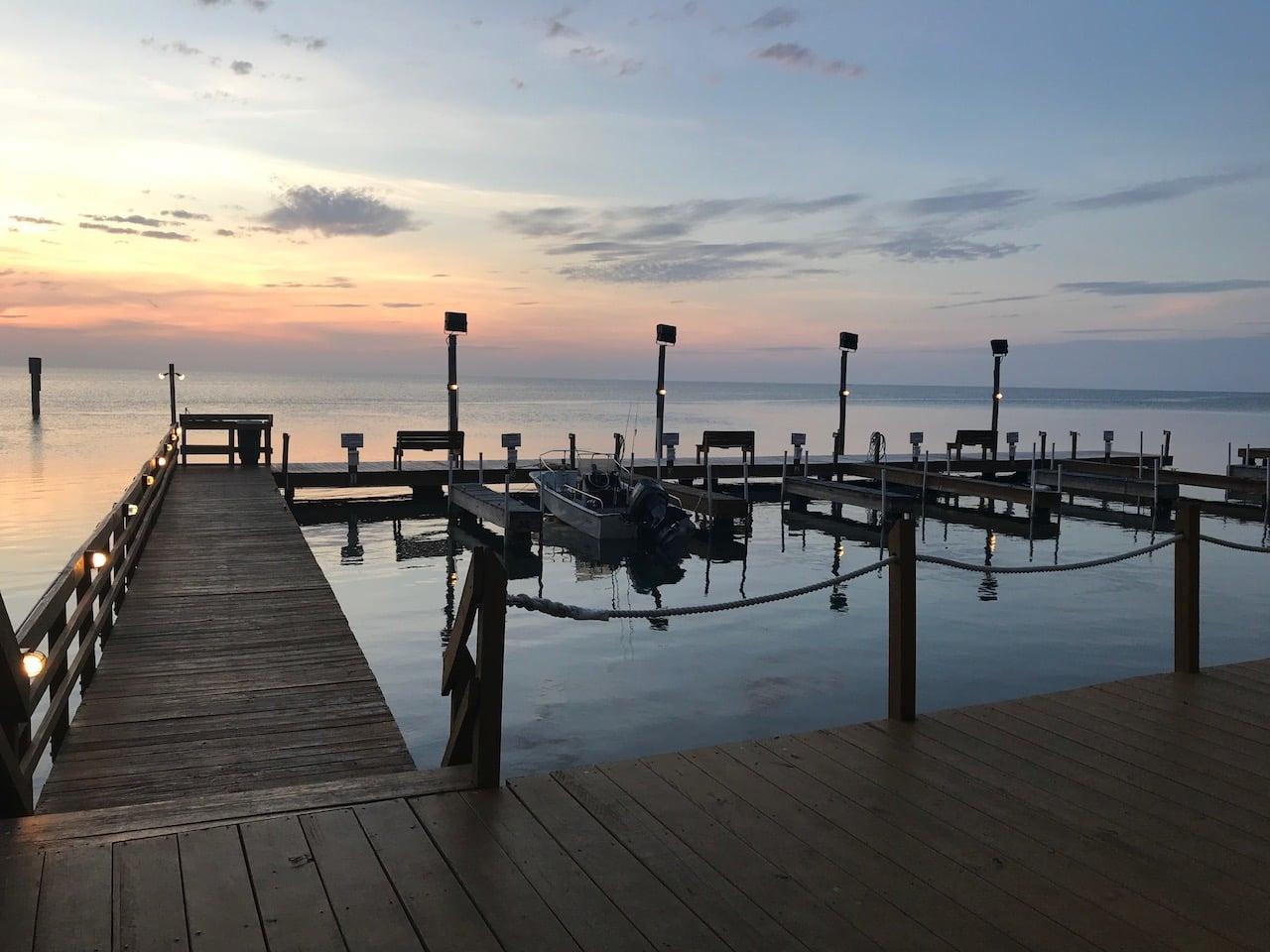 Coastal Lifestyles Luxury Rentals Padre Island Boat Dock Sunset Fishing