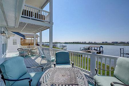 Coastline Realty Topsail Island North Carolina Rentals Boating and Boat Docks on Island