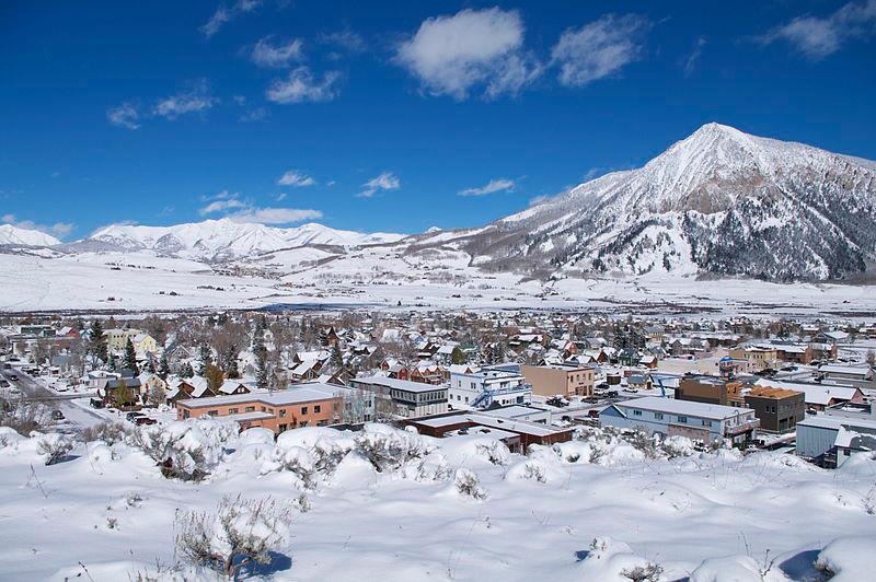 Crested Butte Colorado known as the origin of Mountain Biking in Colorado