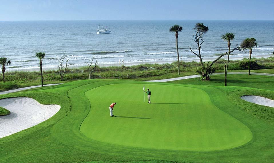 Destination Vacation Hilton Head Island Palmetto Dunes Golf Course