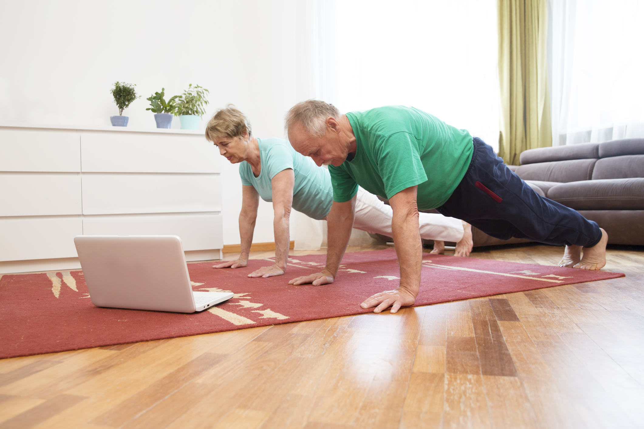 Exercises While Traveling and Staying in a Vacation Rental