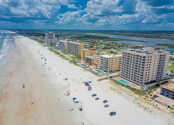 Oceanfront Condominium Unit Sanibel 303 Daytona Beach Shores Florida