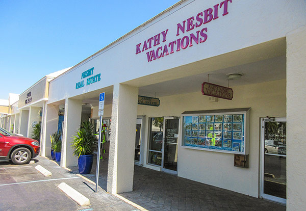 Kathy Nesbit Vacations Fort Myers Beach Estero Island Florida Office