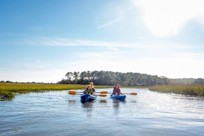Sea Islands of South Carolina - Great Tour Kayaking