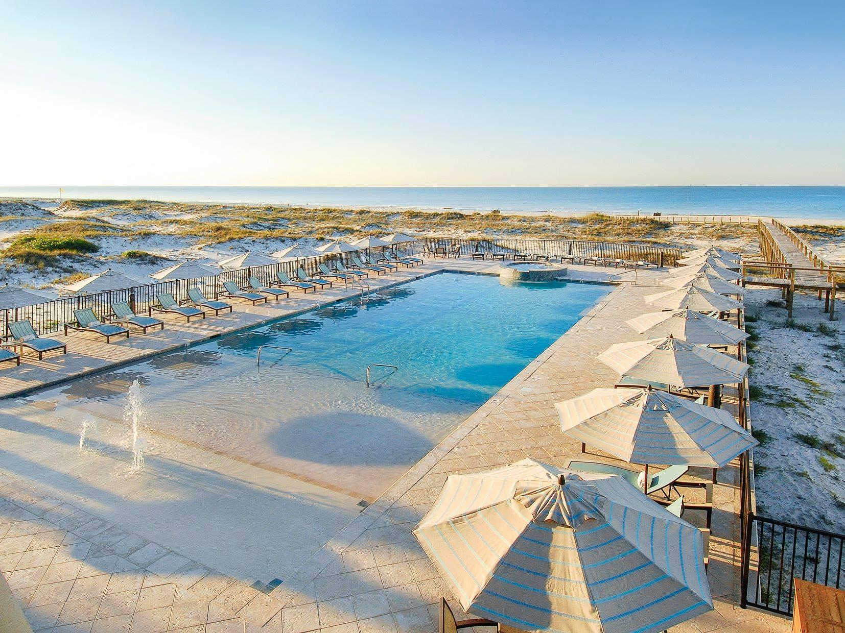 Kiva Dunes Golfing Resort Gulf Shores Alabama Beachside Pool