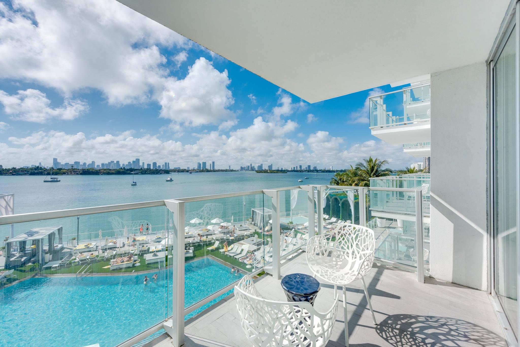 Luxe Miami Condos Mondrian Tower Suite Florida