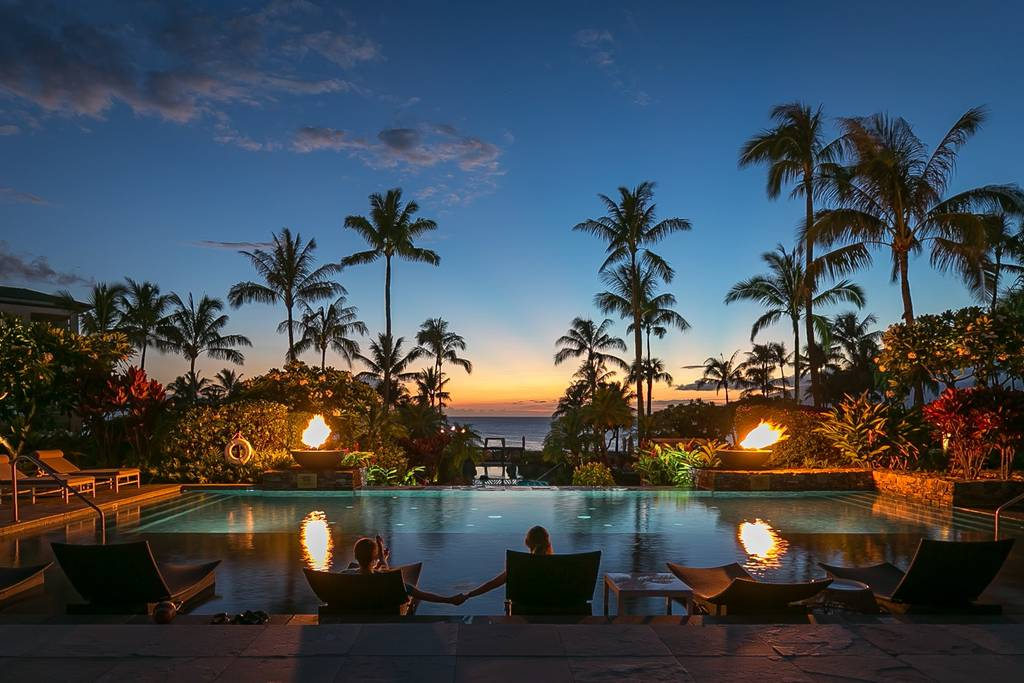 Luxurious Destinations Montage Sunset Bay Residence Kapalua Bay Maui Bay View