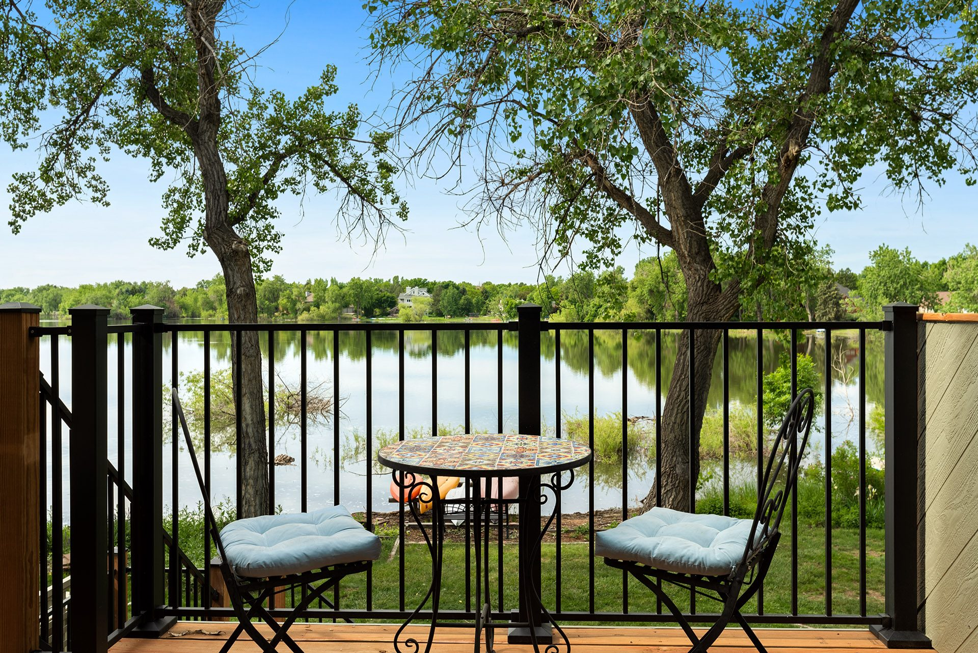 Mountain Time Vacation Rentals Fort Collins Colorado Patio View