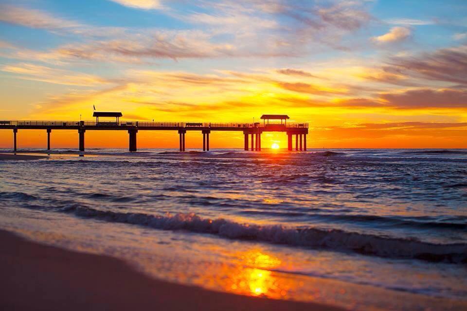 Orange Beach Sunset in the Alabama Gulf Coast