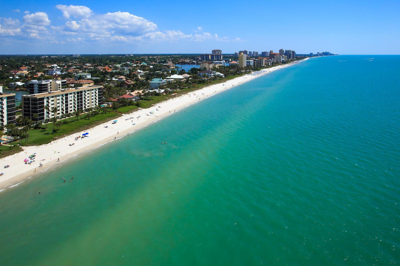 The Coastline of Naples Florida