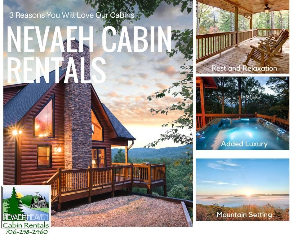 Nevaeh Cabin Rentals Blue Ridge Georgia Mountains Accommodations