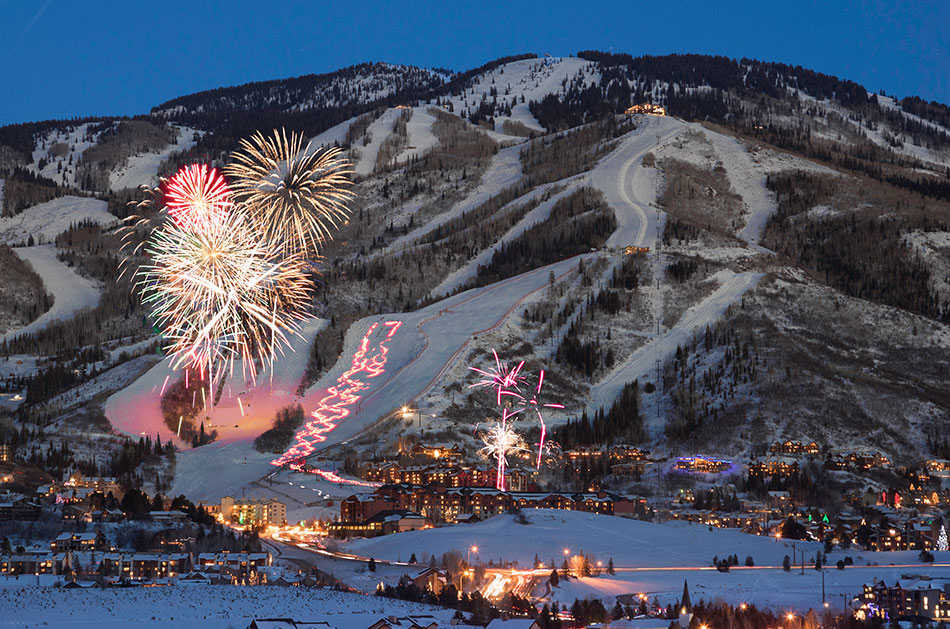 Nomadness Rentals Steamboat Springs Colorado New Year Celebration