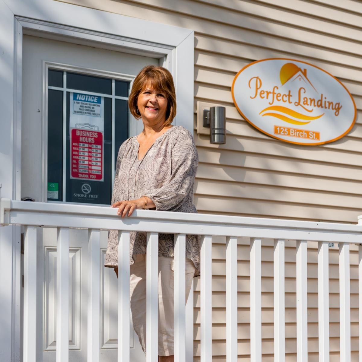 Perfect Landing Rentals Real Estate Property Management Company Office in Tawas City Michigan