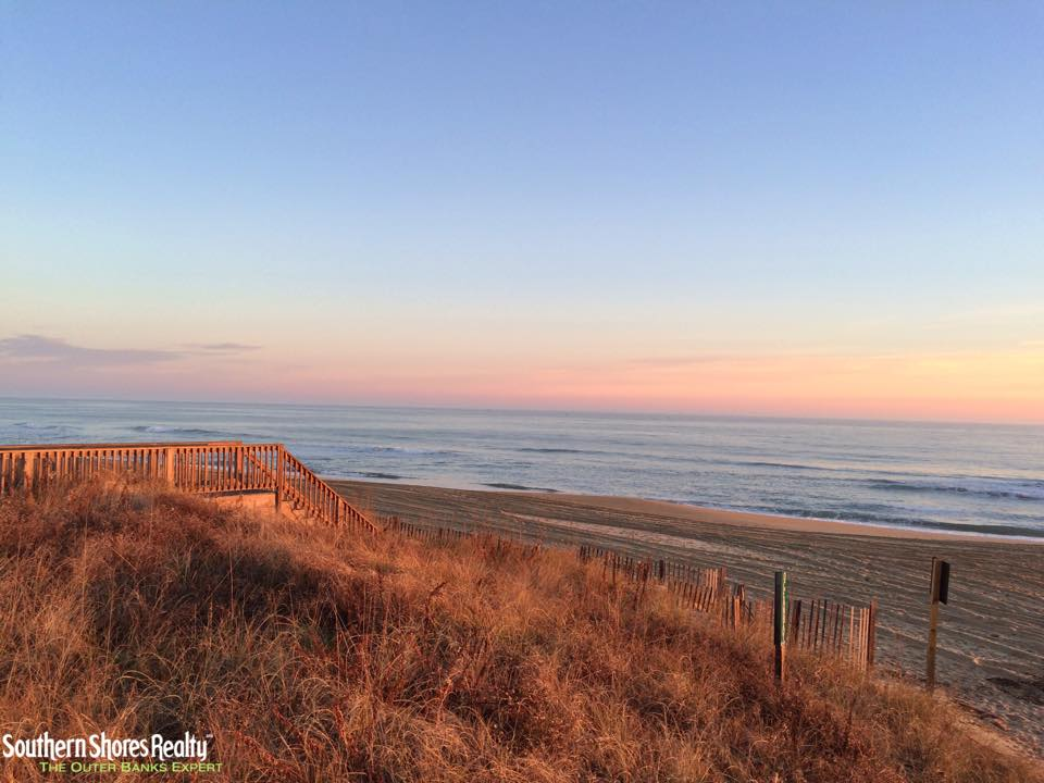 Southern Shores Realty Southern Shores Outer Banks North Carolina Sunset at the Beach