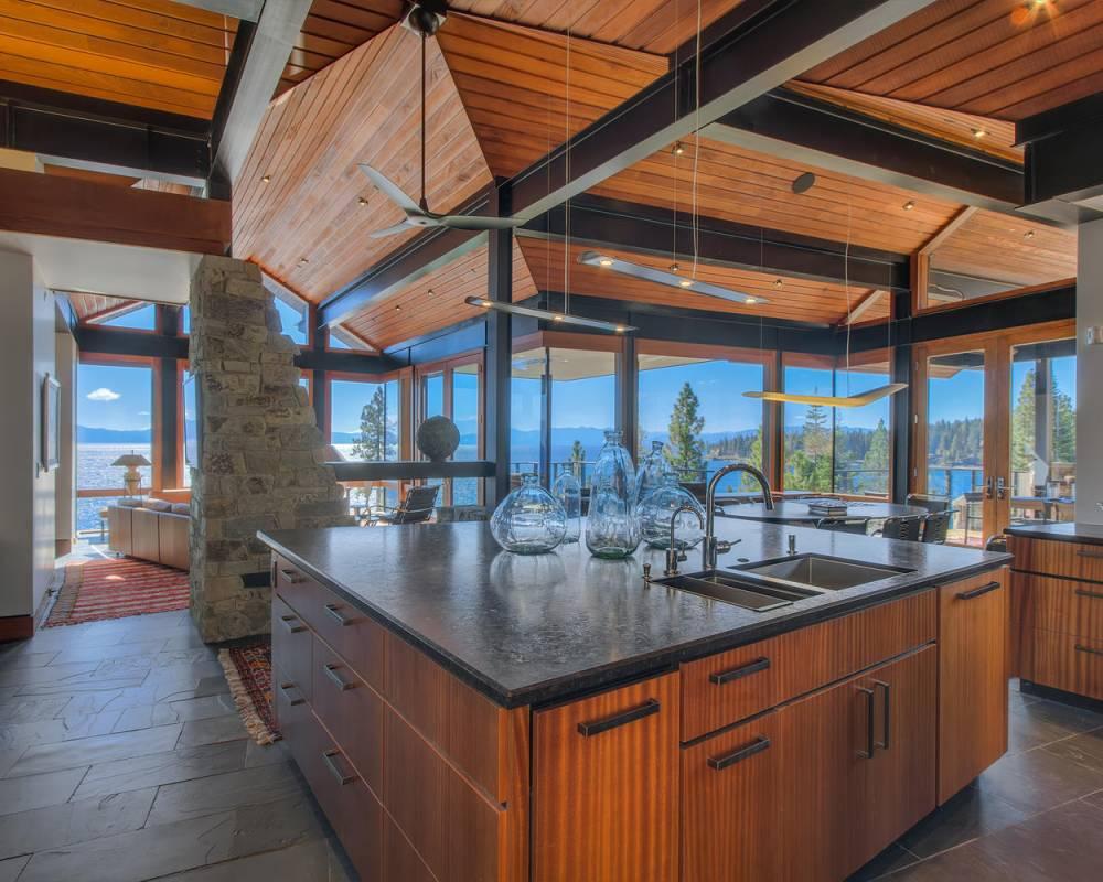 Tahoe-Luxury-Properties-Amazing-Kitchen-View-Open-Floor-Plan-Lake-Tahoe