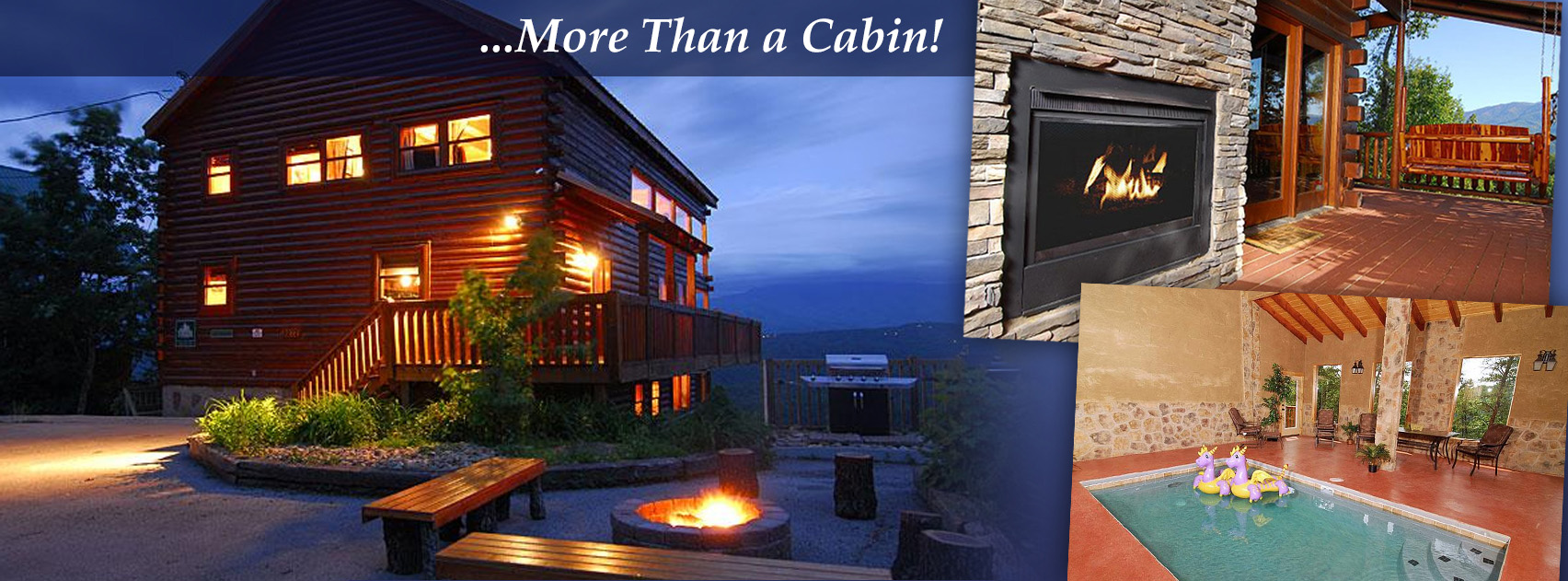 Timber Tops Luxury Log Cabins Vacation Rental Management Company.