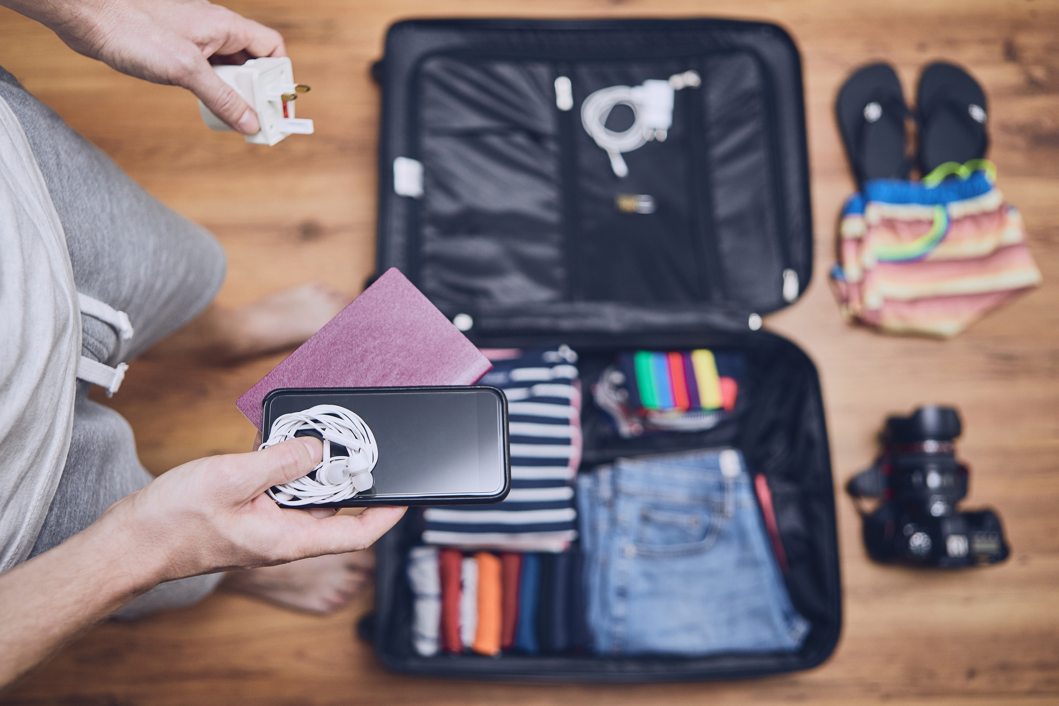 Vacation and Business Travel Packing Checklist.