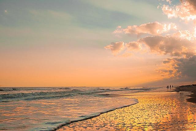 Vacation Time of Hilton Head Island South Carolina Sunsets on the Beach