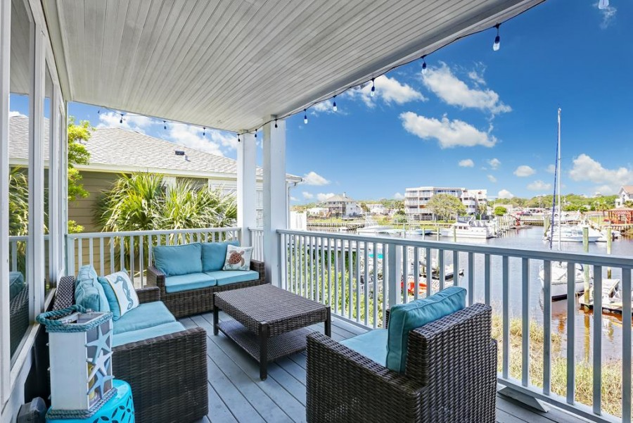 Victory Beach Vacations Carolina Beach Kure Beach Canalside Property Rental