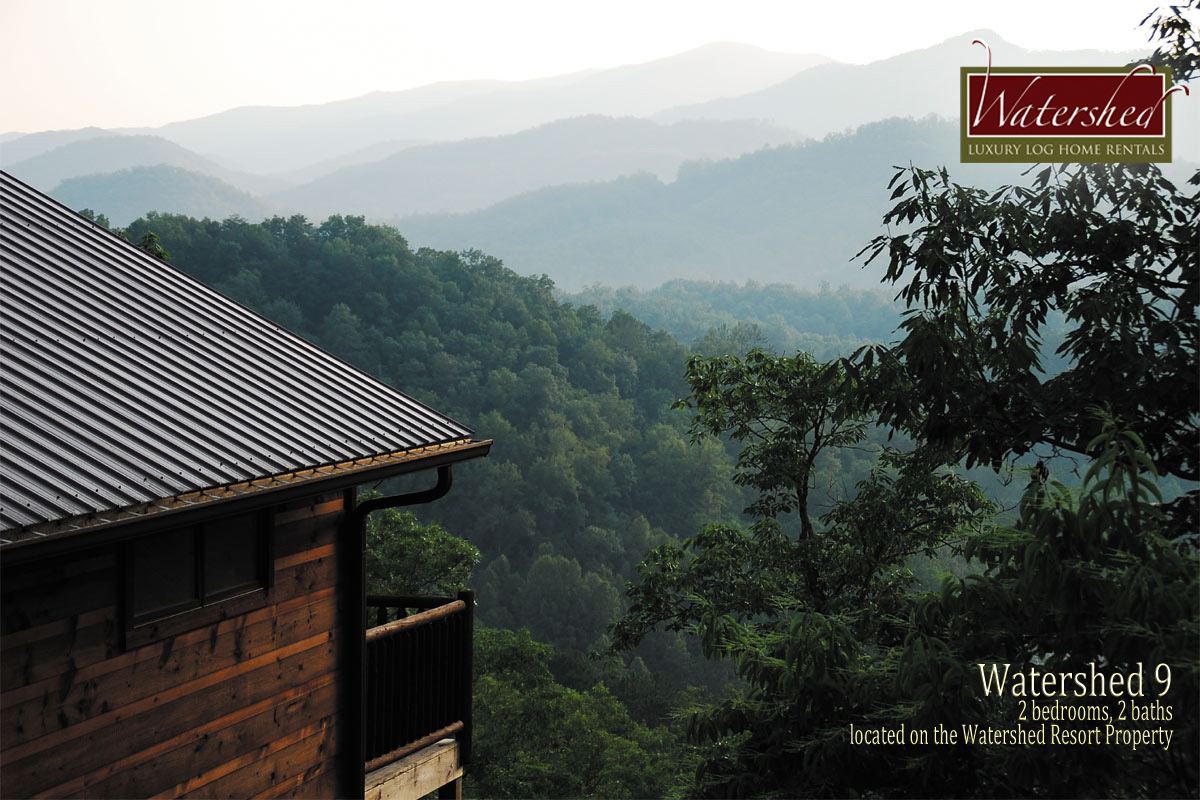 Watershed-Cabins-Bryson-City-Luxury-Log-Cabin-Rental-View