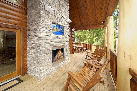 american patriot getaways incredible gatlinburg cabin great smoky mountains