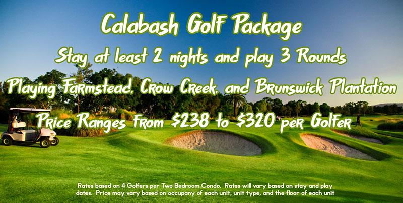 Calabash Golf Package - Brunswick Plantation and Golf Resort