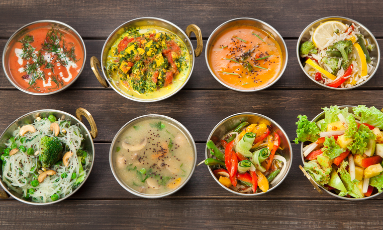 indian vegan food for travelers staying in vacation rentals.