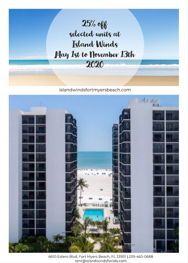 Island Winds Condos Fort Myers Beach Florida Discounted Condo Rentals