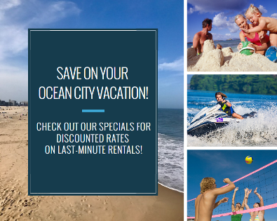 OC Vacations by Resort Rentals Specials