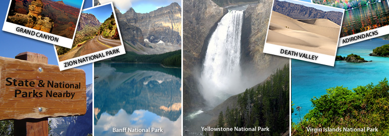 State & National Park Vacation Rentals