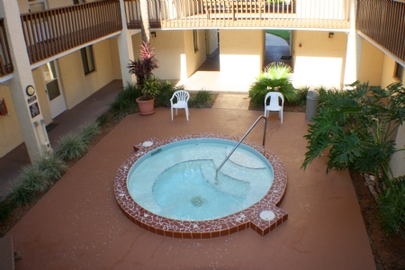 Jacuzzi on the ground floor of your building!