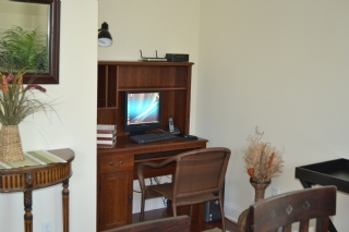 Computer in Family Room