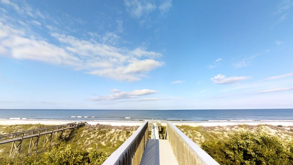 Private Boardwalk to the Ocean