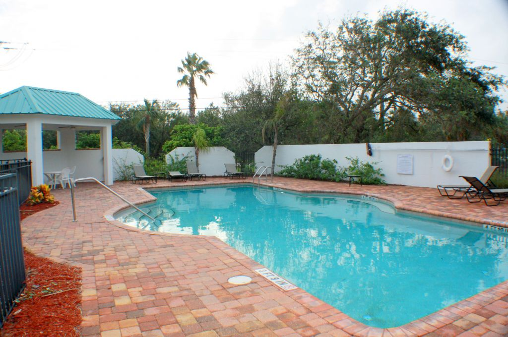 Beautiful pool, just steps from your back porch!