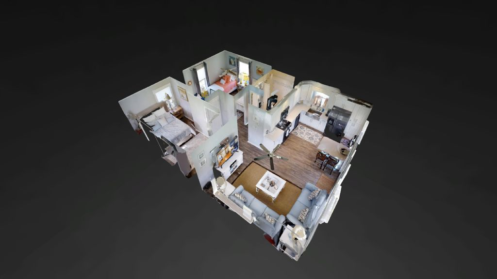 Doll house view of 45 SCV