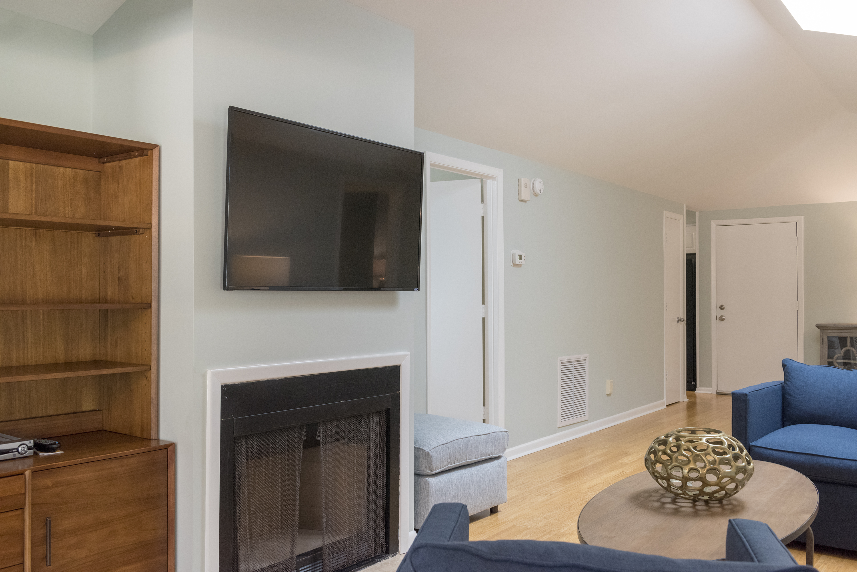 """The 50"""" HGTV and DVD make it easy to find a good viewing spot."""