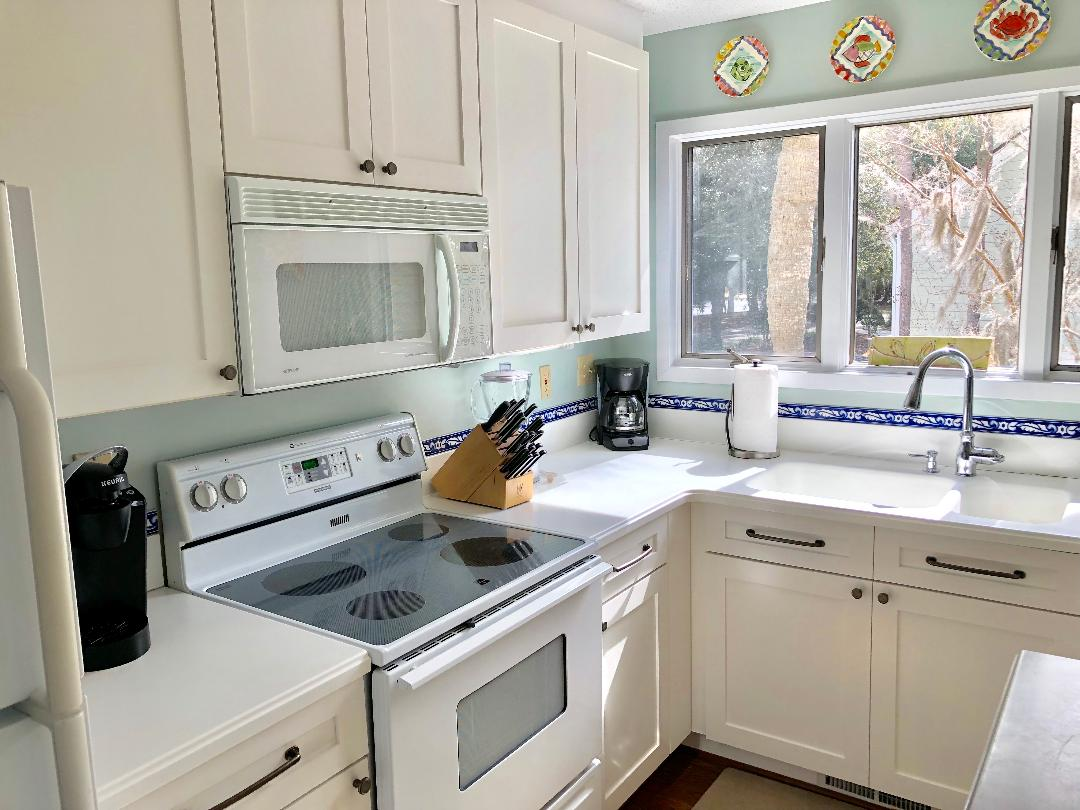 Fully equipped kitchen for your use!