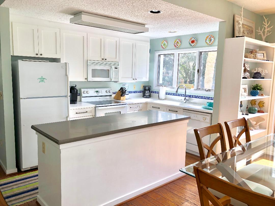 Wonderful open floor plan!  End unit with additional windows!