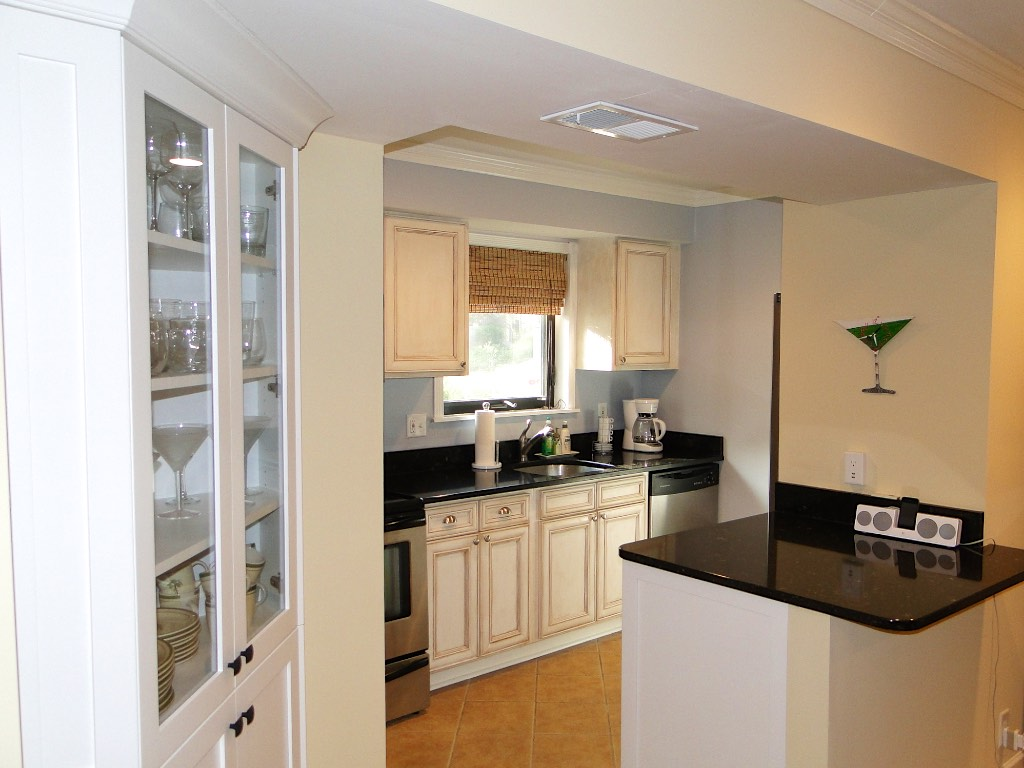 The kitchen has been completely remodeled and is very well appointed.