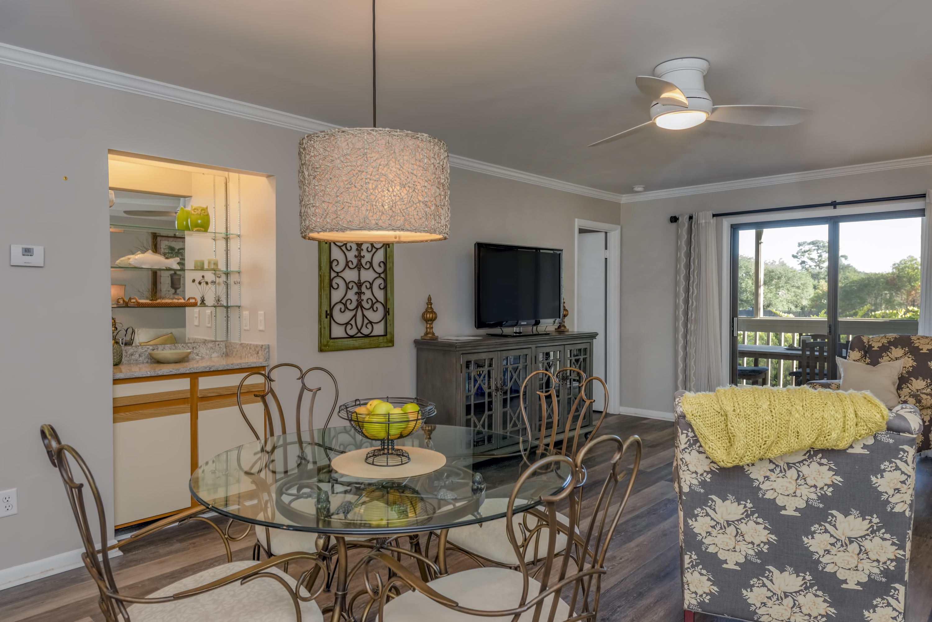 Welcome to 2063 Marsh Walk. Located on the 1st level (above the carport), overlooking the tennis courts.