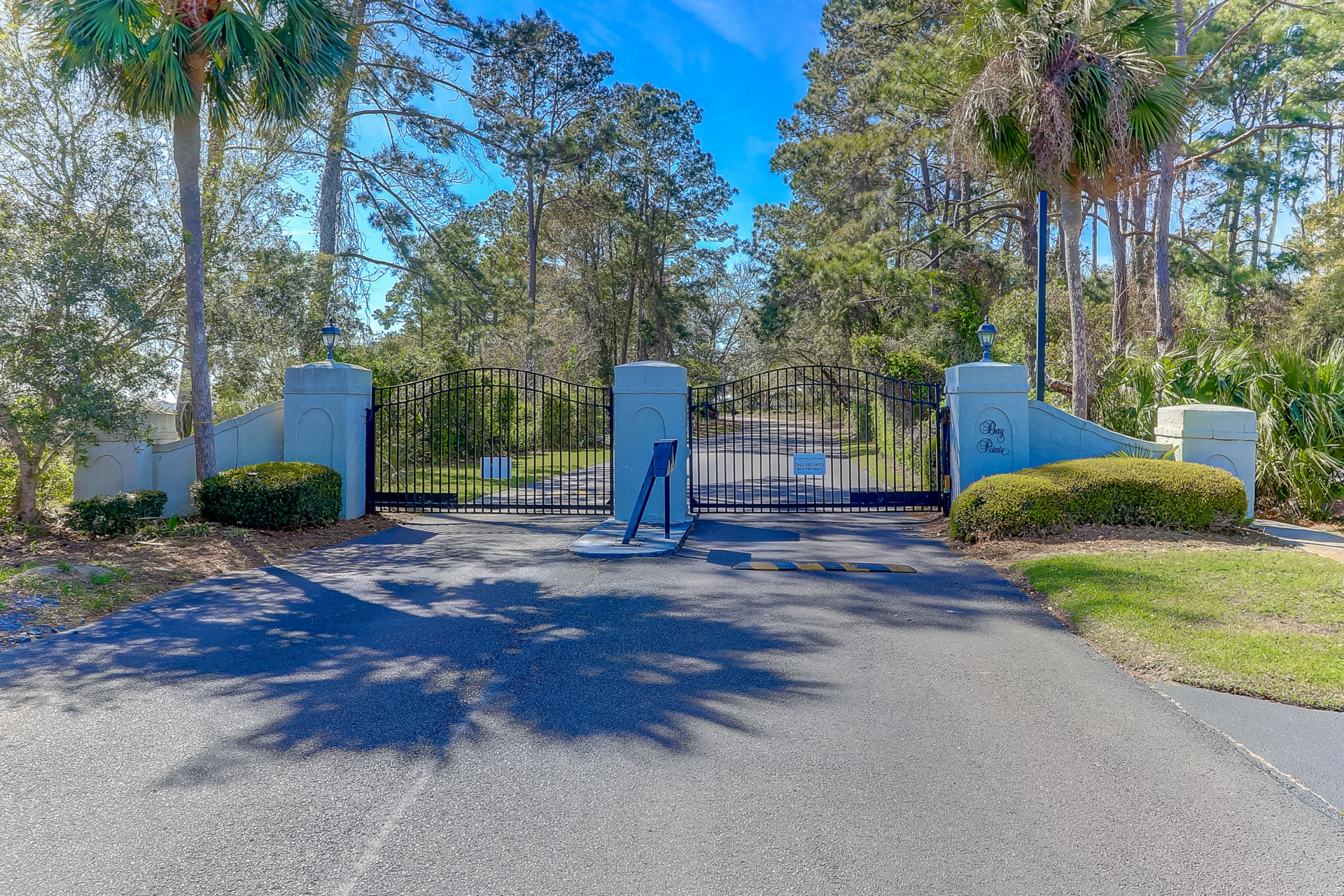 Bay Pointe is a quiet, peaceful gated community