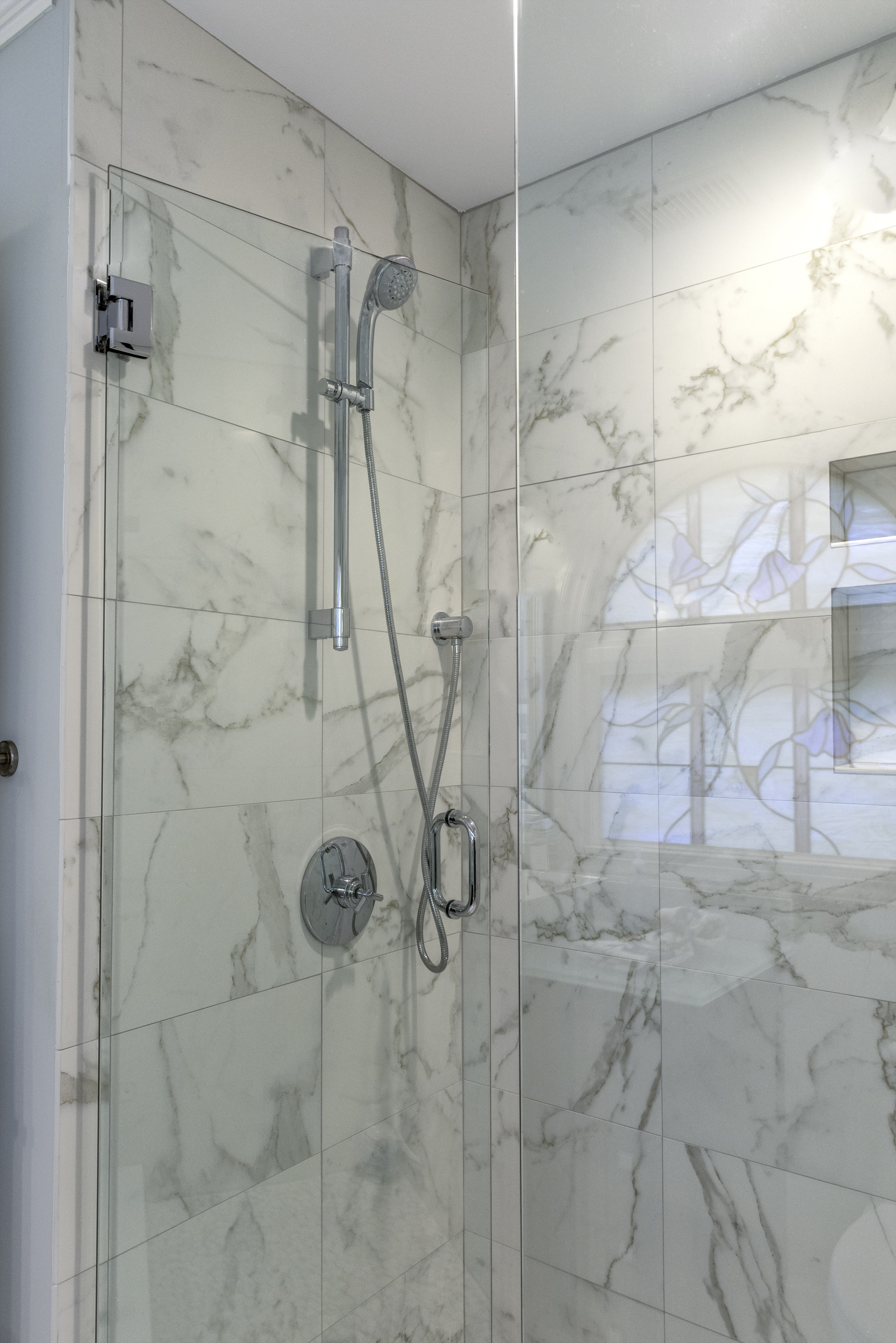 Guest Updated Tiled Shower
