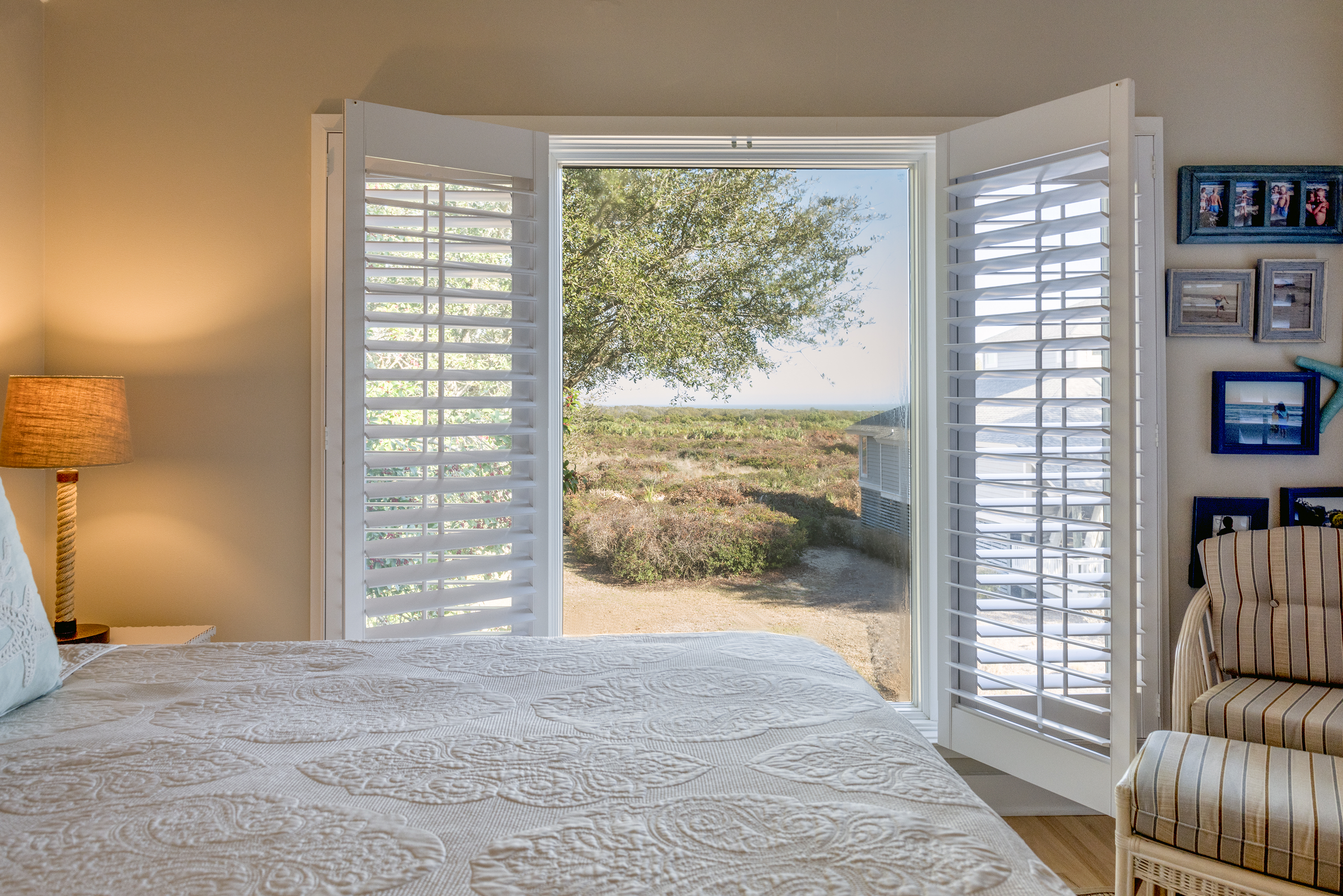 Wake up to the ocean views and fall asleep to the gentle sounds of the waves.